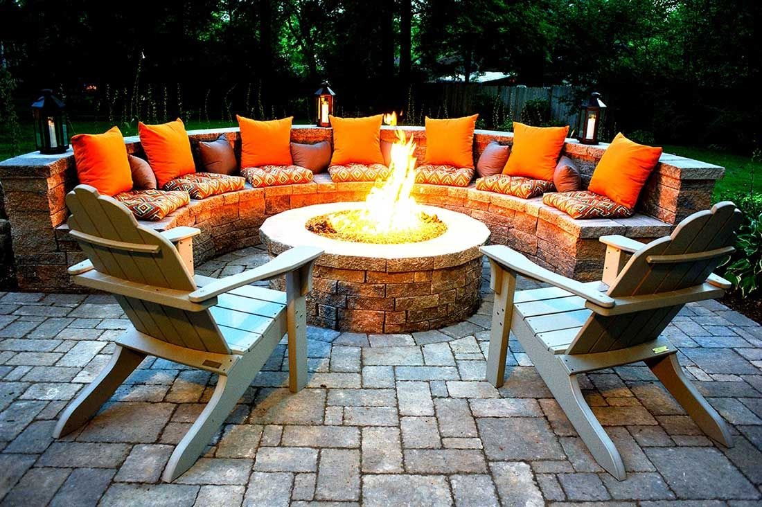 Outdoor Fire Pits-Richardson TX Professional Landscapers & Outdoor Living Designs-We offer Landscape Design, Outdoor Patios & Pergolas, Outdoor Living Spaces, Stonescapes, Residential & Commercial Landscaping, Irrigation Installation & Repairs, Drainage Systems, Landscape Lighting, Outdoor Living Spaces, Tree Service, Lawn Service, and more.