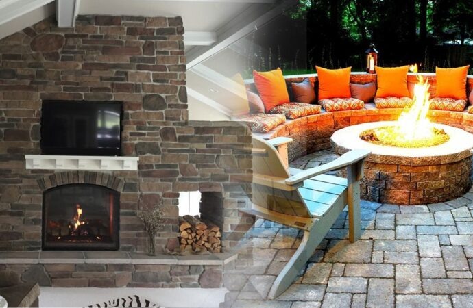 Outdoor Fireplaces & Fire Pits-Richardson TX Professional Landscapers & Outdoor Living Designs-We offer Landscape Design, Outdoor Patios & Pergolas, Outdoor Living Spaces, Stonescapes, Residential & Commercial Landscaping, Irrigation Installation & Repairs, Drainage Systems, Landscape Lighting, Outdoor Living Spaces, Tree Service, Lawn Service, and more.